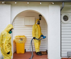 The risk of exposure at a former meth lab can be significant until a meth lab cleanup is completed