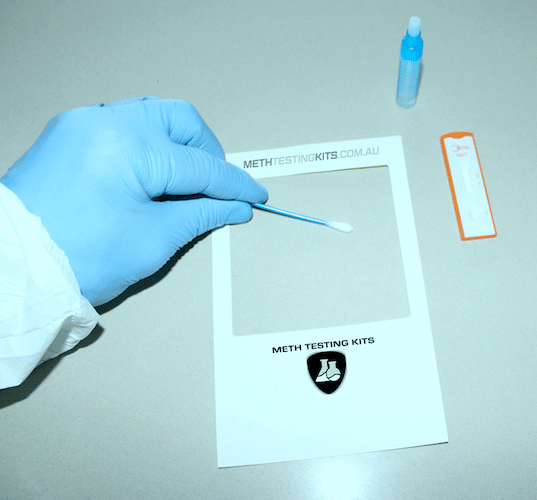 Meth Testing Sample