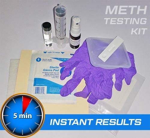 Meth Lab Residue Testing