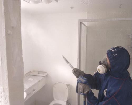 Meth Cleaning in Bathroom