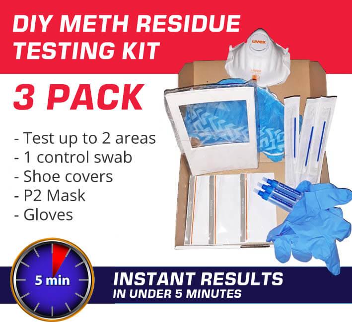 Meth Testing Kits 3 pack